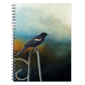 RED Wing Blackbird Notebooks
