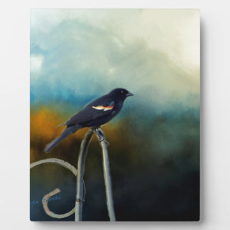 RED Wing Blackbird Plaques
