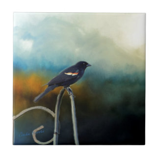 RED Wing Blackbird Tile