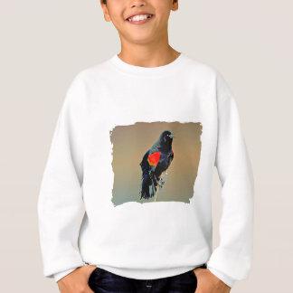 Red-winged Blackbird Art Sweatshirt