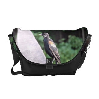 Red Winged Blackbird Commuter Bags