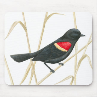 Red-Winged Blackbird Mousepad