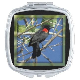 Red-winged Blackbird Vanity Mirrors
