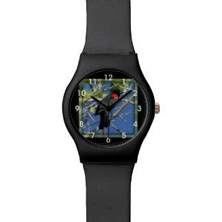 Red-winged Blackbird Wristwatches