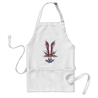 Red Winged Faerie Adult Apron