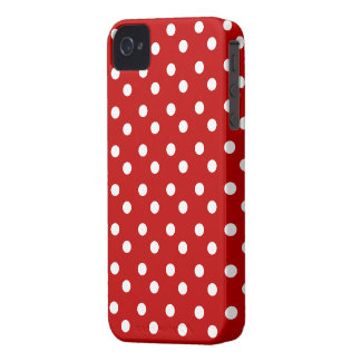 Red With White Polka Dot Case-Mate Case