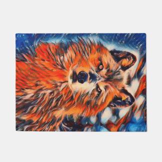 """Red Wolf Wildlife 18"""" x 24"""" Door Mat"""
