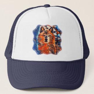 Red Wolf Wolves Wildlife Trucker's Hat