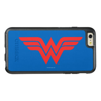 Red Wonder Woman Logo OtterBox iPhone 6/6s Plus Case