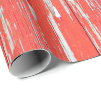 red wood rustic wall paper