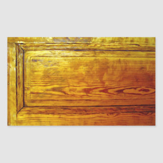 Red wooden furniture interior design texture rectangle sticker
