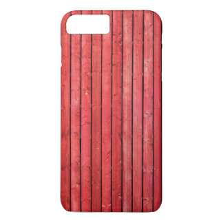 Red wooden planks iPhone 7 Plus case