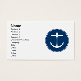 Red Yacht Club Business Card