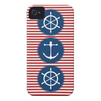 Red Yacht Club Pattern iPhone 4 Cover