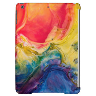 Red Yellow Blue Abstract Painting Case For iPad Air