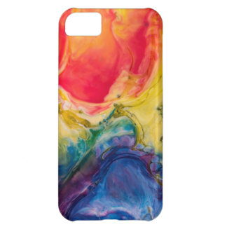 Red Yellow Blue Abstract Painting Cover For iPhone 5C