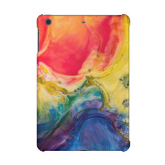 Red Yellow Blue Abstract Painting iPad Mini Case