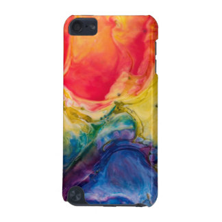 Red Yellow Blue Abstract Painting iPod Touch 5G Cover