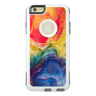 Red Yellow Blue Abstract Painting OtterBox iPhone 6/6s Plus Case