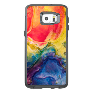 Red Yellow Blue Abstract Painting OtterBox Samsung Galaxy S6 Edge Plus Case