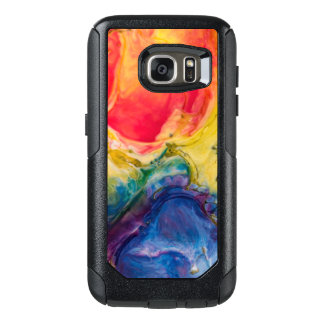 Red Yellow Blue Abstract Painting OtterBox Samsung Galaxy S7 Case