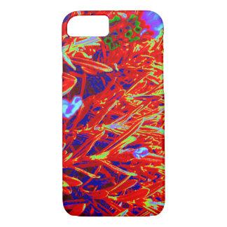 Red Yellow Gold Lavendar Garden Natural Photos iPhone 8/7 Case
