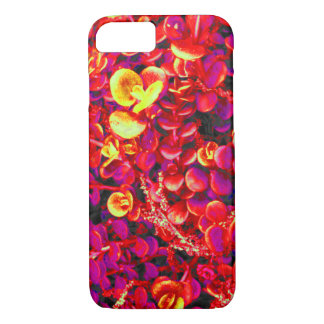 Red Yellow Gold Succulents Garden Nature Photo Case-Mate iPhone Case
