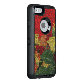 Red Yellow Green Floral Abstract OtterBox iPhone 6/6s Case
