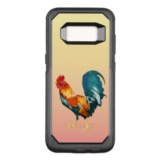 Red Yellow Green Rooster Bird Galaxy S8 Case