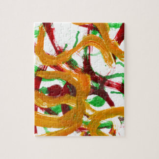 Red Yellow Green Strokes Puzzle