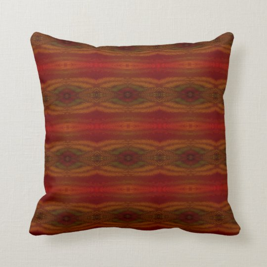 Red, Yellow & Green Western Style Pillow