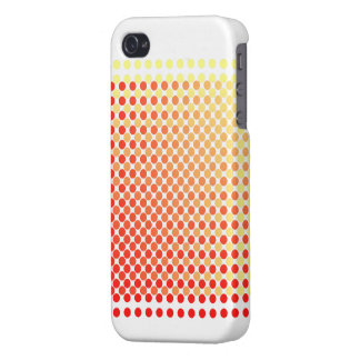 Red Yellow Mash-Up Pattern iPhone 4 Case
