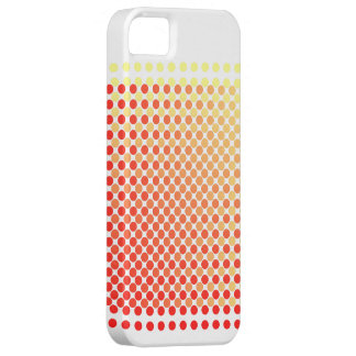 Red Yellow Mash Up Polka Dot Pattern iPhone Case iPhone 5 Cases