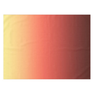 Red yellow Ombre . Tablecloth