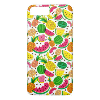 Red & Yellow Tropical Fruit Pattern iPhone 8 Plus/7 Plus Case