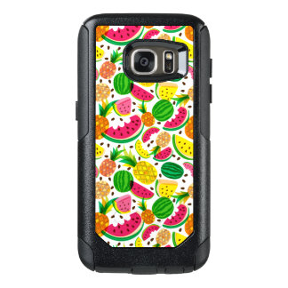 Red & Yellow Tropical Fruit Pattern OtterBox Samsung Galaxy S7 Case