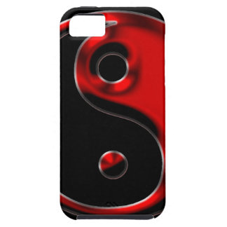 Red Yin Yang iPhone 5 Case