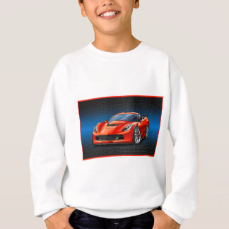 Red_Z06 Sweatshirt