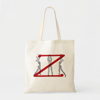 Red Z Tote