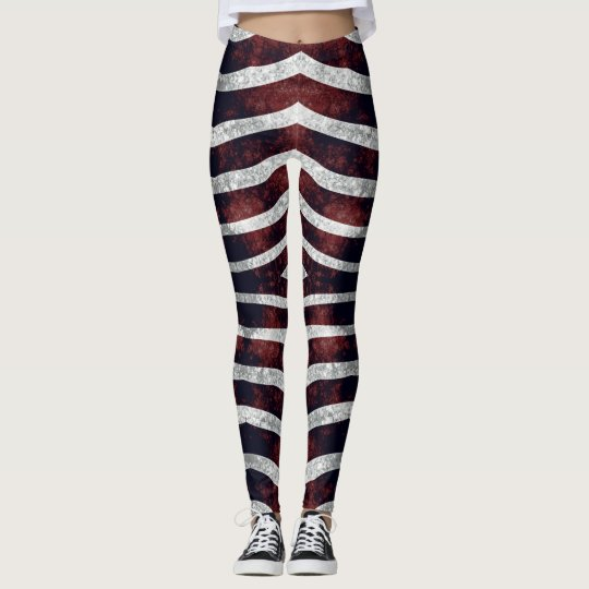Red Zebra #1 Vitaleg Leggings