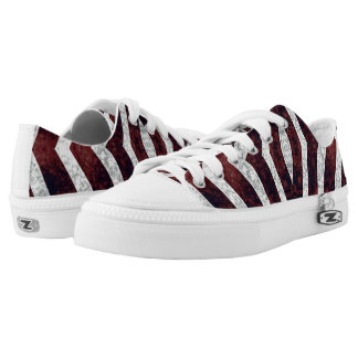 Red Zebra #1 Vitas Sneaker Shoes