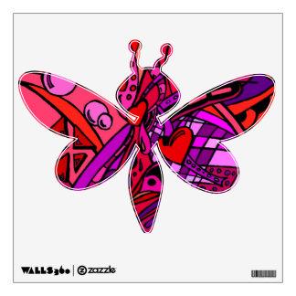 *Red Zen 2 Wall Sticker