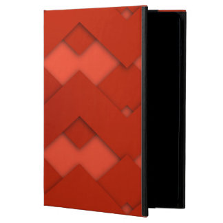 Red Zig Zags Design iPad Air Covers