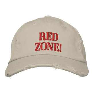 Red Zone! Embroidered Hat