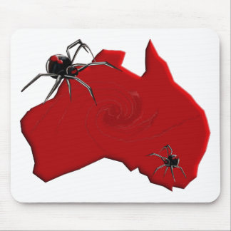 Redback Spider Australia Mouse Pads