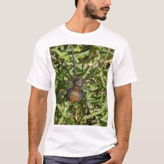 Redback Spider On Green Grass, T-Shirt