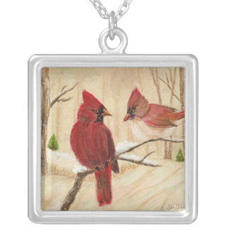 Redbird Necklace