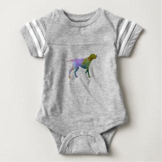 Redbone coonhound baby bodysuit