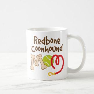 Redbone Coonhound Dog Breed Mom Gift Coffee Mug