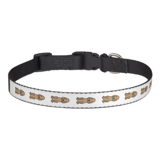 Redbone Coonhound Dog Cartoon Pet Collar